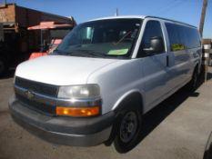 (Lot # 3900) - 2012 Chevrolet Express G1500