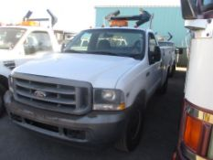(Lot # 3908) - 2002 Ford F-350 SD