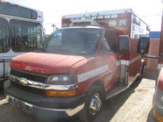 (Lot # 3925) - 2010 Chevrolet Express Ambulance