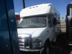 (Lot # 3937) - 2014 Ford E-Series Shuttle Bus