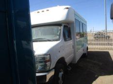 (Lot # 3941) - 2013 Ford E-Series Shuttle Bus