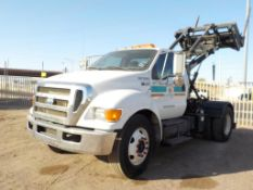 (Lot # 3945) - 2008 Ford F-650 Container Carrier