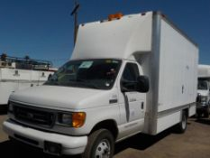 (Lot # 3914) - 2006 Ford E-450 SD Field Operations Van
