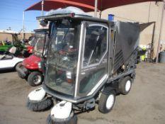 (Lot # 3925a) - Tennant 525 Green Machine Sweeper