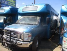 (Lot # 3939) - 2013 Ford E-450 SD Shuttle Bus