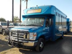 (Lot # 3947) - 2013 Ford E-450 SD Shuttle Bus