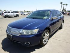 (Lot # 3340) 2007 Lincoln MKZ