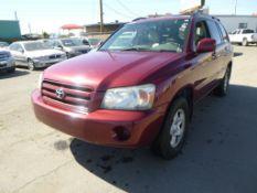 (Lot # 3358) 2005 Toyota Highlander