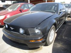 (Lot # 3322) 2007 Ford Mustang