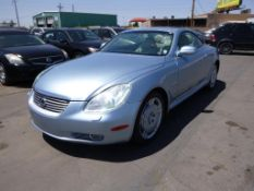 (Lot # 3337) 2004 Lexus SC 430