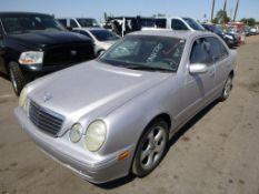 (Lot # 3317) 2002 Mercedes-Benz E-Class