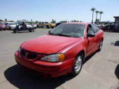 (Lot # 3327) 2003 Pontiac Grand AM