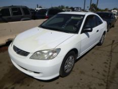 (Lot # 3300) 2005 Honda Civic