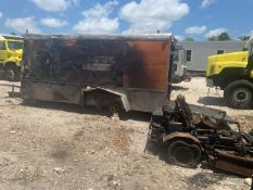LARGE LOT SCRAP - TRAILER, TURF TIGER 48'' DECK MOWER WITH KOHLER COMMAND PRO 27HP ENGINE, ASSORTED