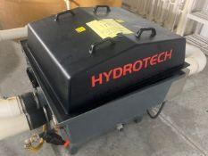 HYDROTECH HDF801-16 FILTER WITH BALDOR 5HP PUMP & WMT GOULDS BOOSTER PUMP - 2014 - SERIAL No. 8328