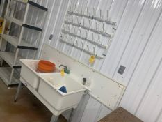 UTILITUB 2 COMPARTMENT UTILITY SINK WITH SPICKET