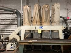 LEWIS M CARTER 4-HEAD DUST COLLECTION SYSTEM