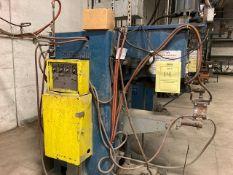 THOMSON-GIBB ELECTRIC WELDING CO MODEL K SPOT WELDER - 24'' THROAT / 75KVA TRANSFORMER - SERIAL No.