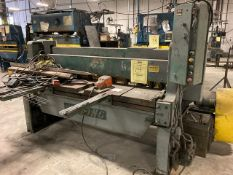 WYSONG 1072 SHEAR - CAP 10-A / 80'' W OPENING - SERIAL No. P4-464