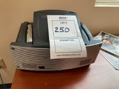 NEC WT610 PROJECTOR WITH DLP TECHNOLOGY (CONFERENCE ROOM)