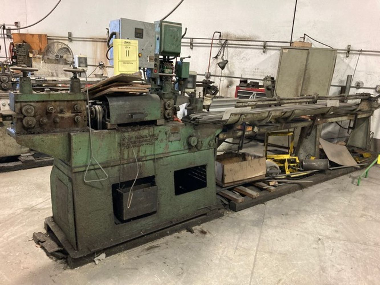 METAL MACHINERY & EQUIPMENT - ABSOLUTE AUCTION