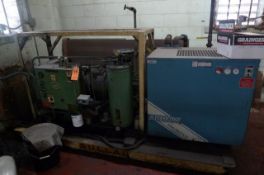 SULLAIR SCREEN AIR COMPRESSOR, S/N NA W/ ARROW DRYER (NOT WORKING)