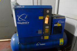 QUINCY QGS-15 ROTARY AIR COMPRESSOR