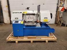 Magnum BS-2012A Horizontal Band Saw with touch screen - 20 X 12 inch CUTTING CAPACITY - MINT &