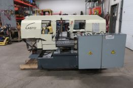 "Kasto Horizontal Band Saw model SBS400AU 16"" x 16"" capacity 3 phase unit with low hours"