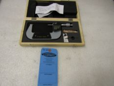 "Mint 3-4"" / 75-100 mm Digital Micrometer in case BRAND NEW"