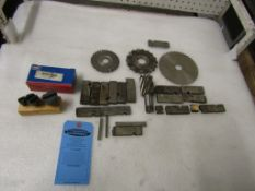Lot of assorted cutters