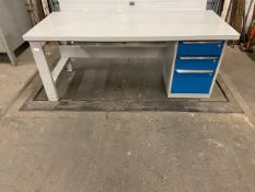 "Work Table Work Bench Unit 72"" x 30"" with drawers"