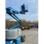 FREE CUSTOMS MINT 2006 Genie Zoom Boom Articulating Lift model Z45/25 45' height Electric LOW HOURS