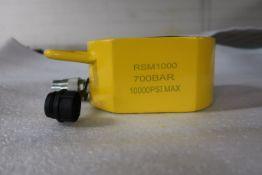 RSM-1000 100 Ton Hydraulic Jack - pancake jack style