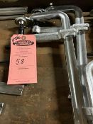 """Lot of 2 MINT BESSEY style F-CLAMPS - UNUSED-NEW - 16"""" long"""