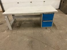 """Work Table Work Bench Unit 72"""" x 30"""" with drawers"""