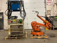 ABB IRB 2400 Robotic Weld Package w/ IRB2400 M2000 Controller, Miller Robotic Interface and Miller
