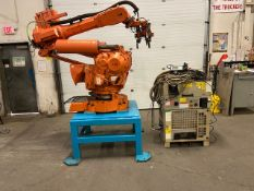 2008 ABB Robot IRB 6400R Handling Robot with ABB Controller & Teach Pendant and Cables complete