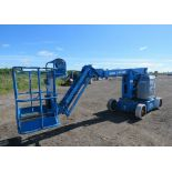MINT Genie Boom Lift model Z-34/22N with 34' high with LOW hours ELECTRIC