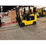 """FREE CUSTOMS - Hyster 8000lbs Capacity Forklift Electric with sideshift, 72"""" forks and 3 stage"""