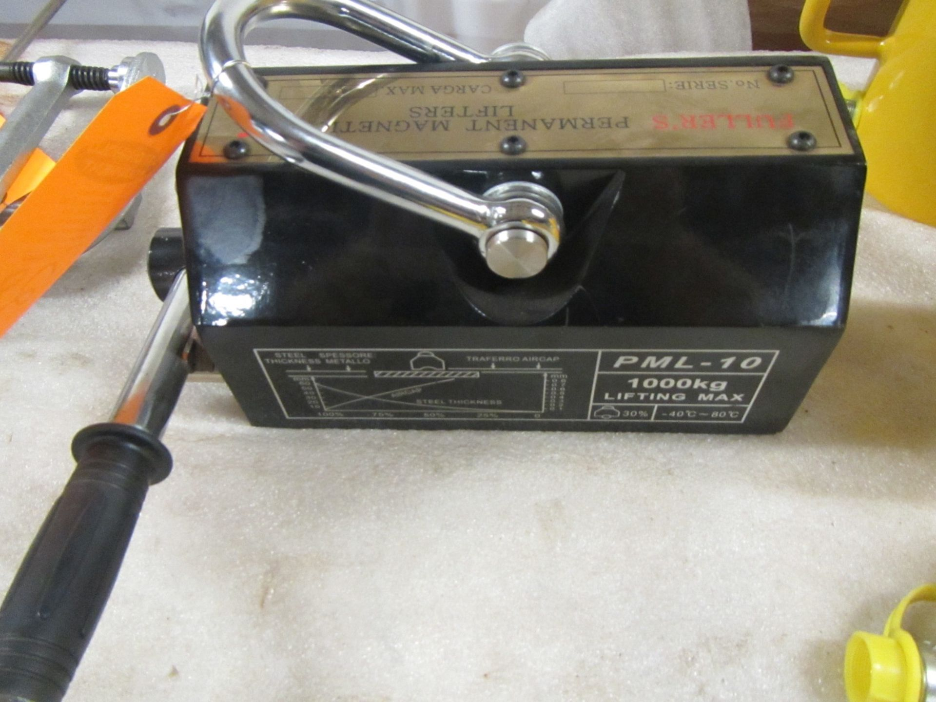 Brand New 1000kg Lifting Magnet - for plate, tubing, pipe