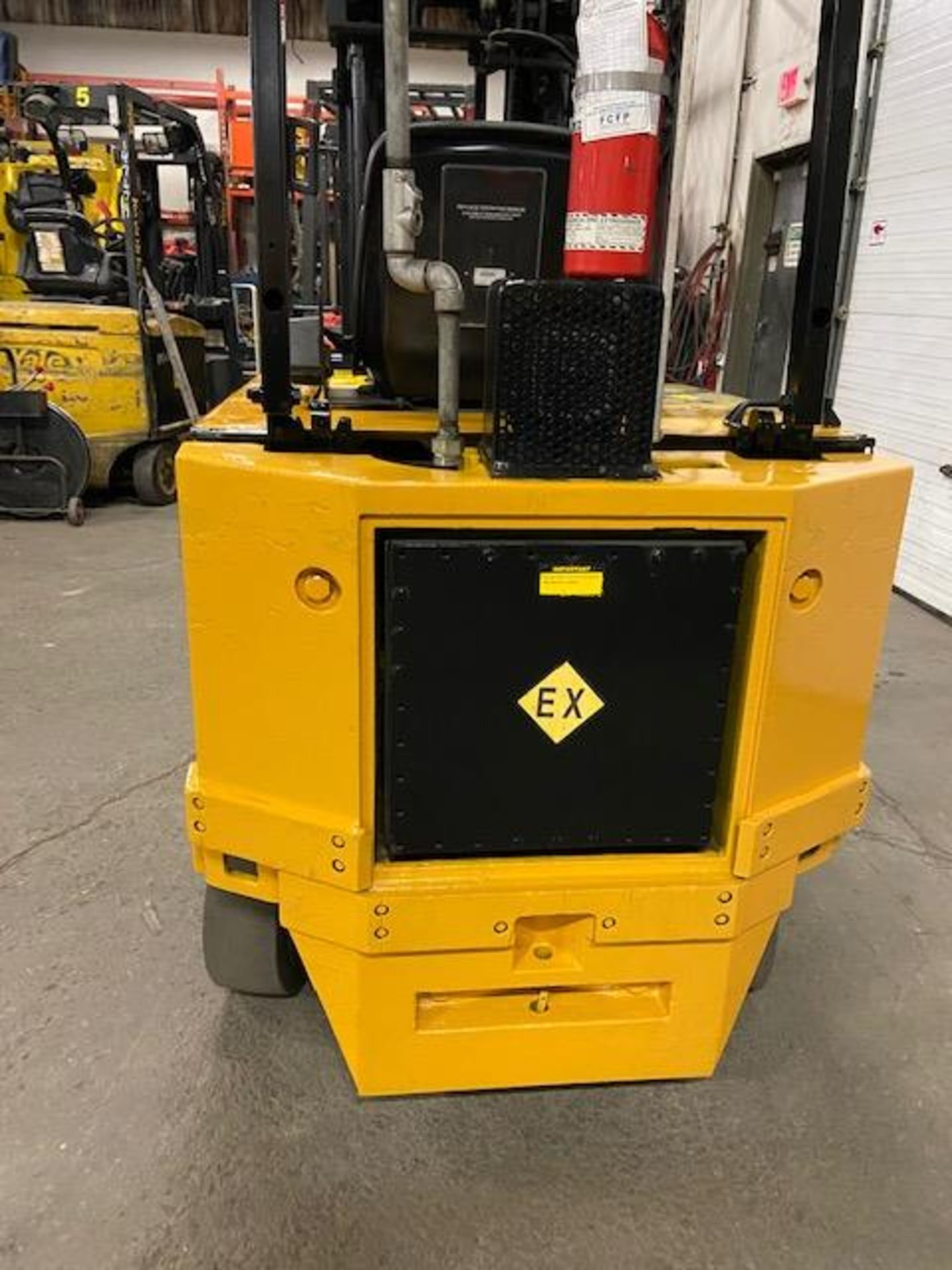 FREE CUSTOMS - ETS Explosion Proof Forklift BRASS Forks 4000lbs Capacity Electric with 3-STAGE - Image 5 of 5