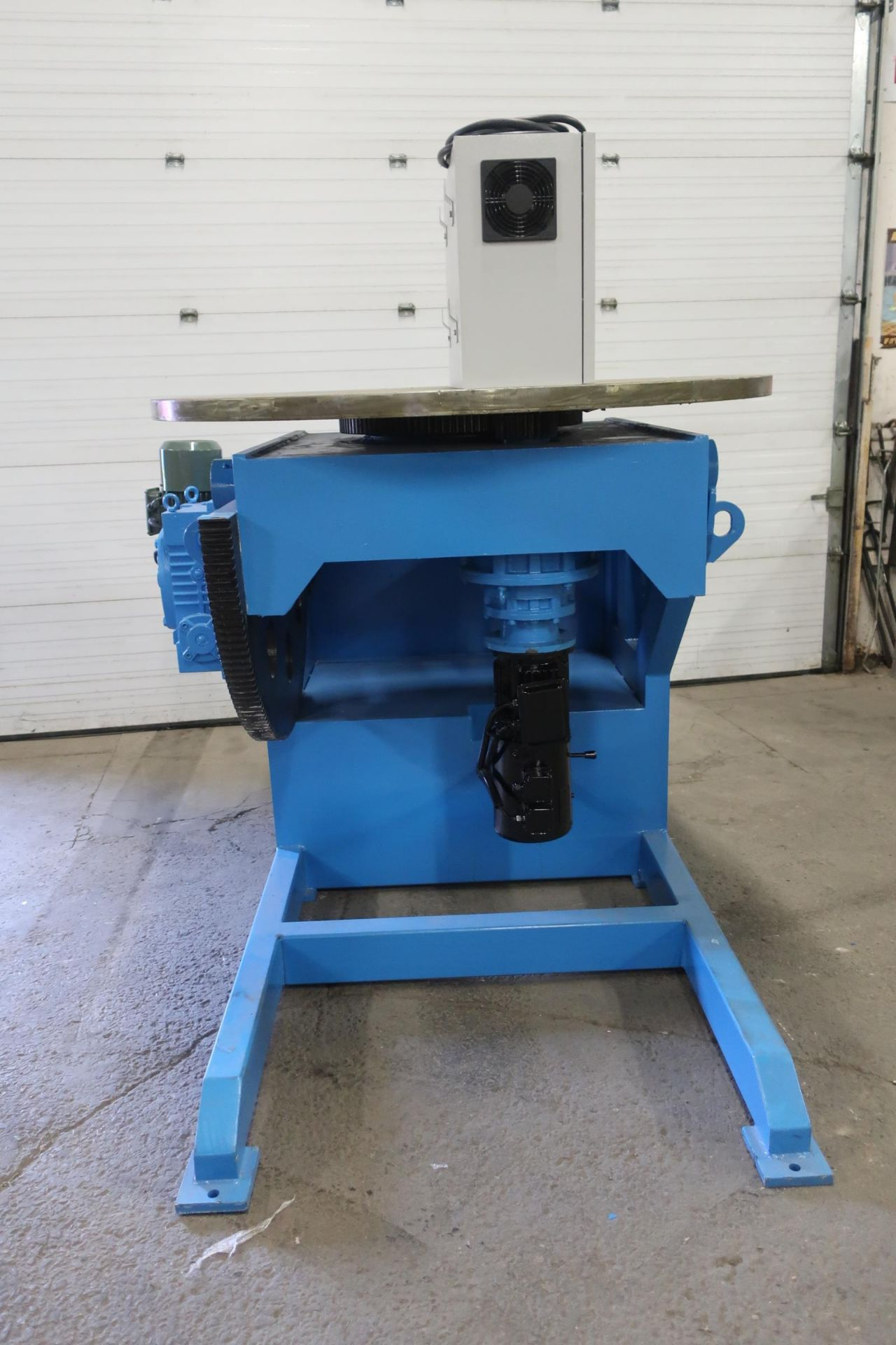 BWJ-30 WELDING POSITIONER 3000kg or 6600lbs capacity - tilt and rotate with variable speed drive and - Image 3 of 4