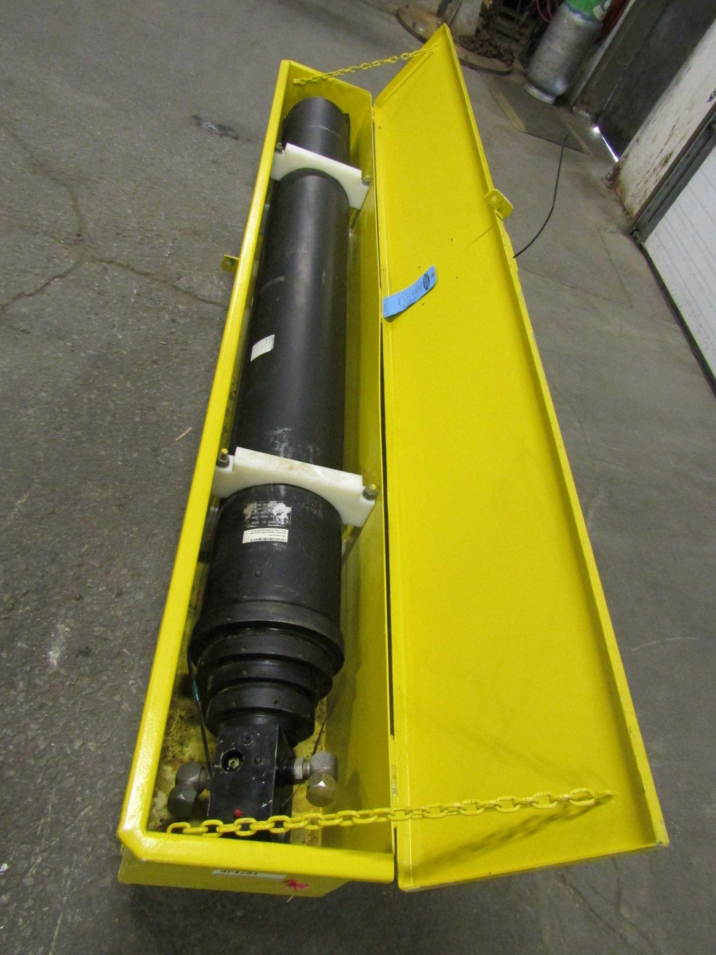 CRT LMC Qualmec Roll-Off Truck 4-stage Hydraulic Cylinder - 8' long NEW UNIT