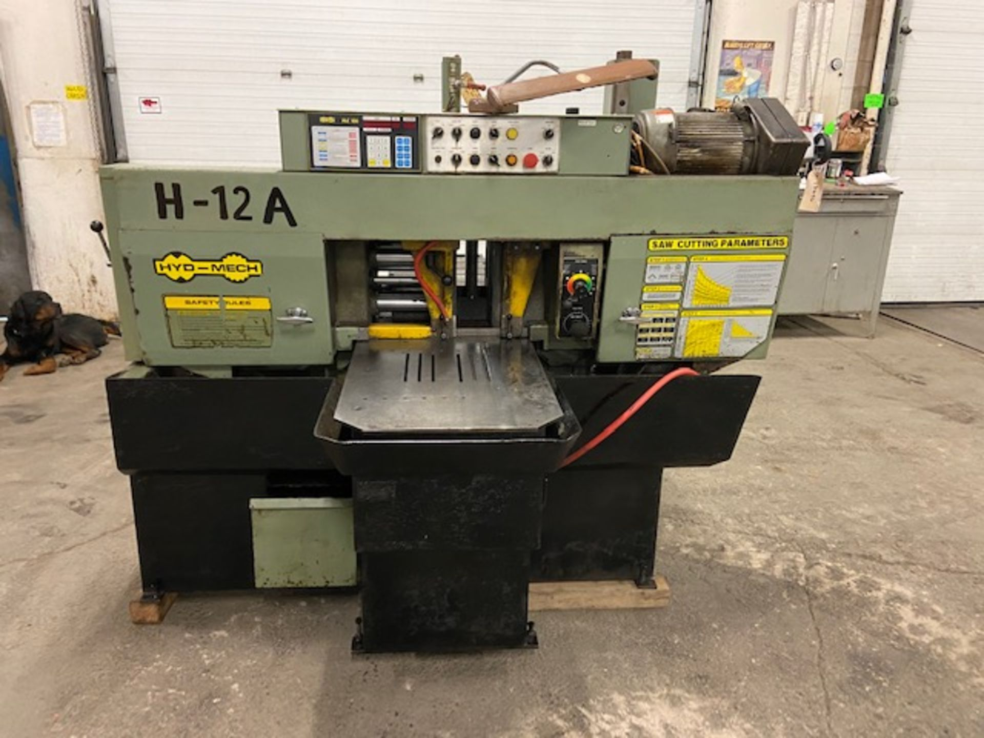 Hyd-Mech H-12A Fully Automatic Horizontal Bandsaw - with automatic clamping and bundling and