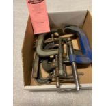 Lot of 10 (10 units) C-clamps