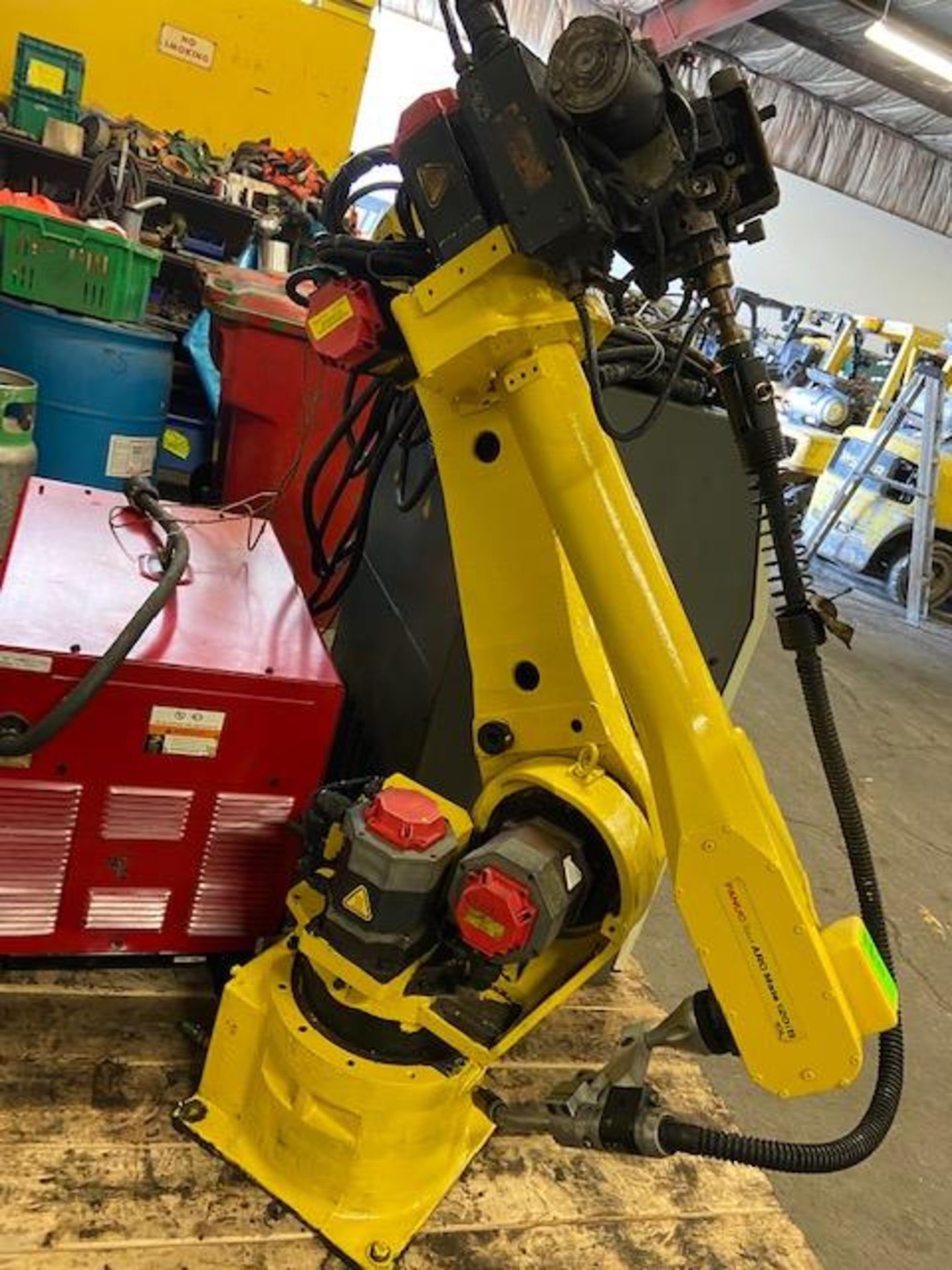 2008 Fanuc Arcmate 120iB / 10L Welding Robot with System FULLY TESTED with R30iA Controller, teach - Image 3 of 4