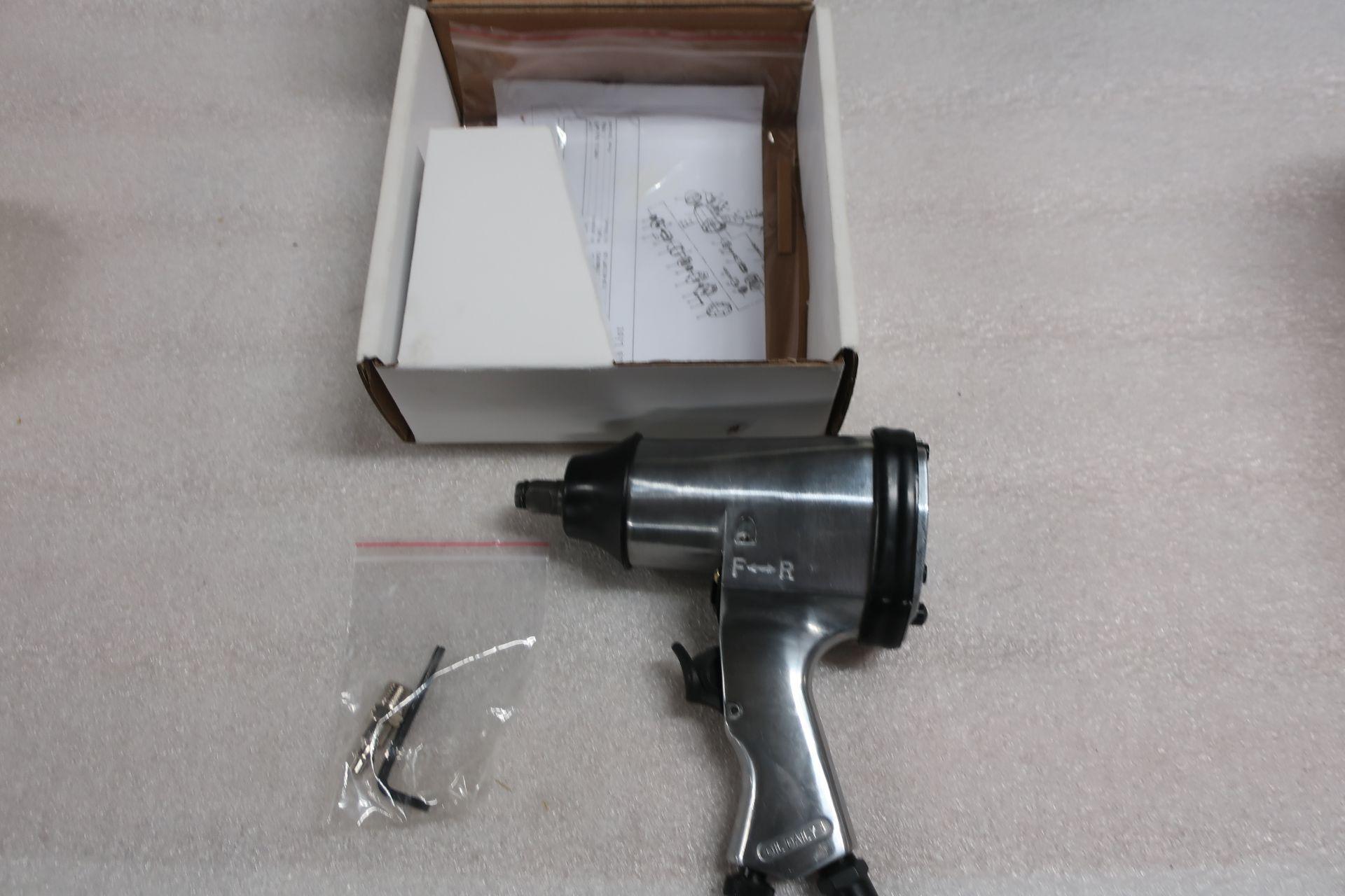 "Air Impact Wrench 1/2"" Drive - MINT UNUSED impact gun"