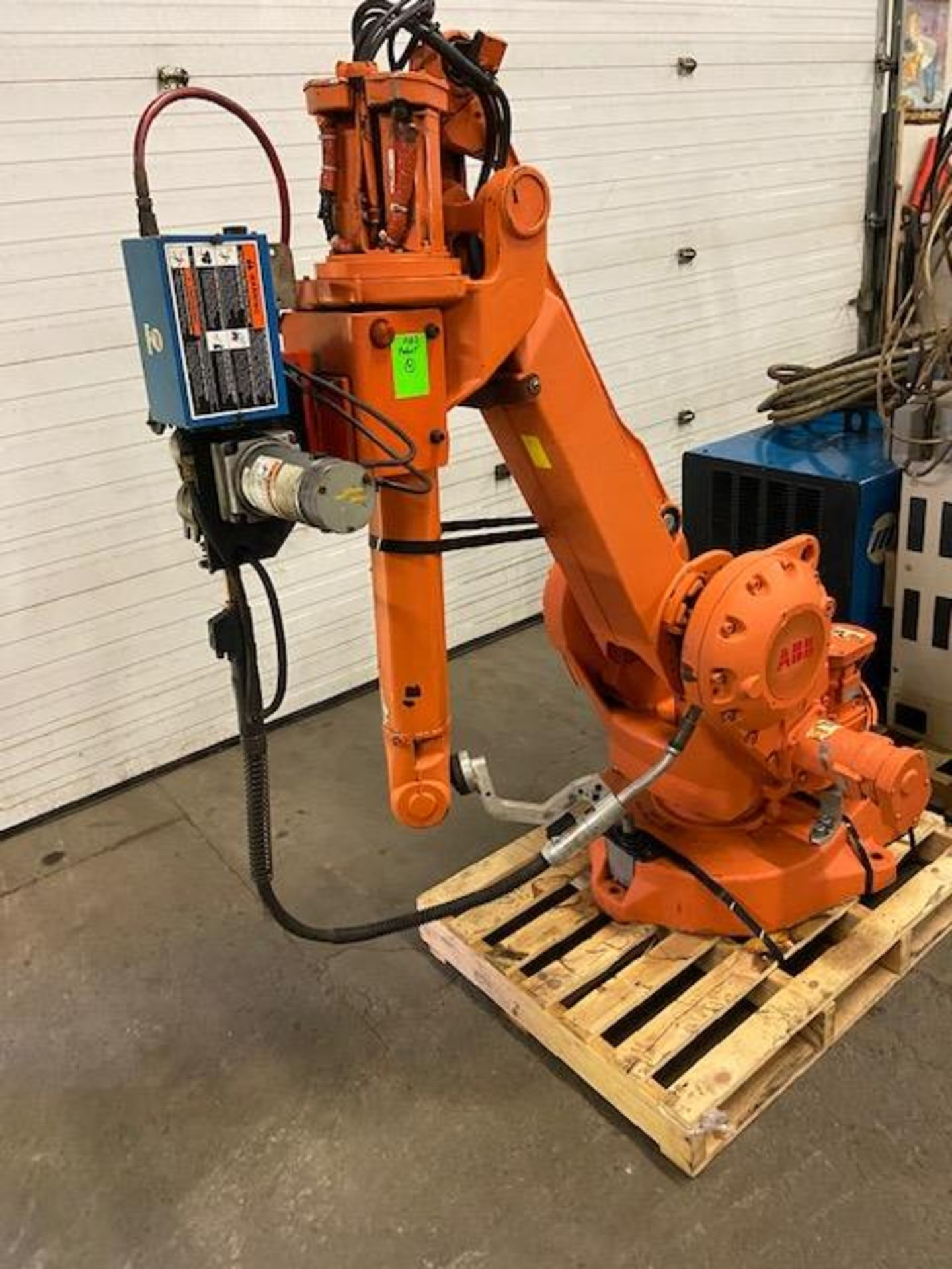 ABB IRB 2400 Robotic Weld Package w/ IRB2400 M2000 Controller, Miller Robotic Interface and Miller - Image 4 of 6