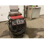 Lincoln Square Wave Tig 255 Welder 255 AMP COMPLETE with Cables and whip & Bernard Cooler unit 230/
